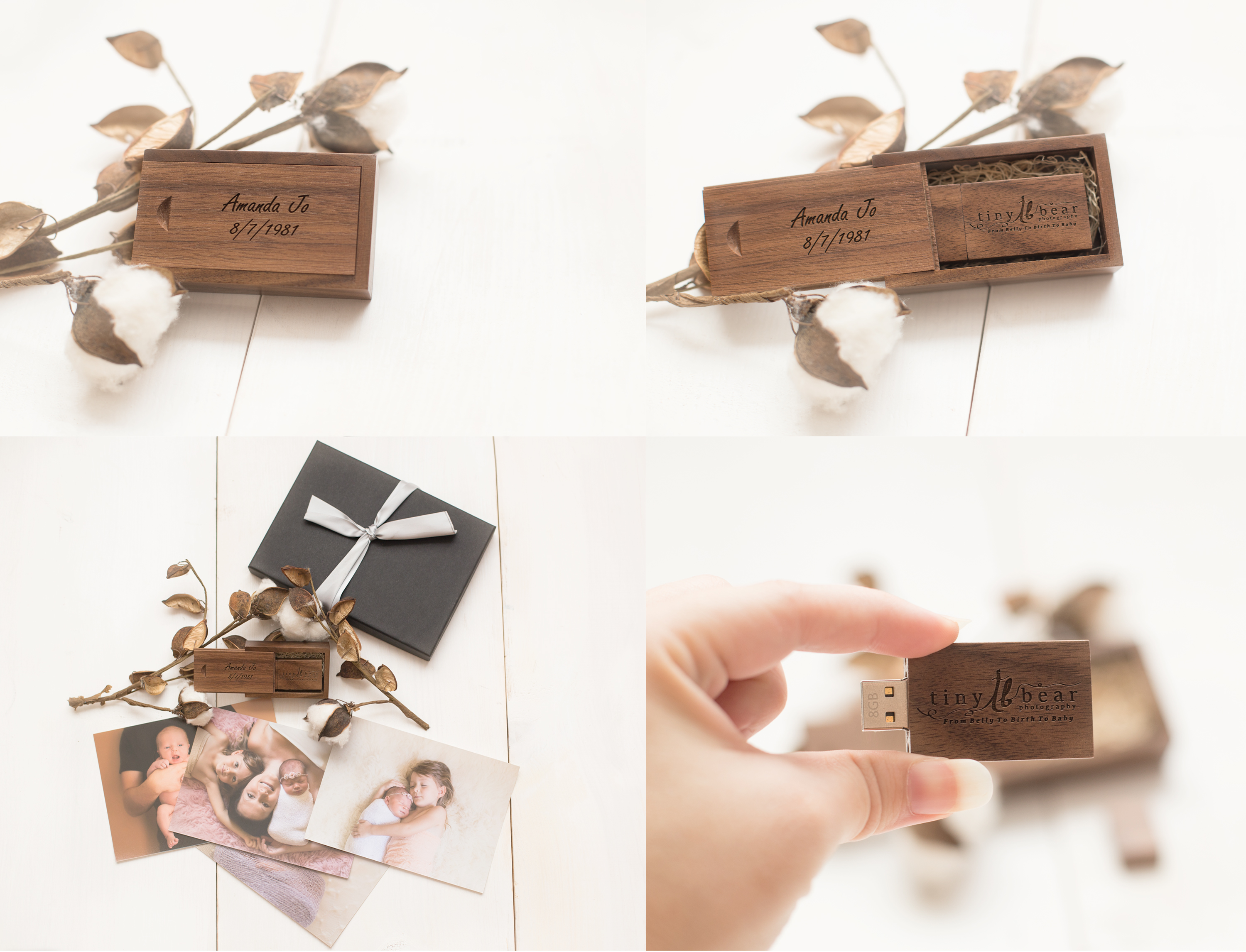 All photobox together with usb