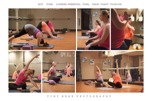 Hot Yoga Lounge Prenatal Yoga collage 2